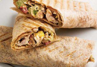 Tavuklu Burrito Tarifi