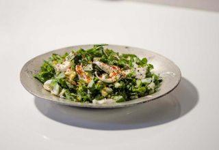 Yumurtalı Yarpuz (Narpuz) Salatası Tarifi